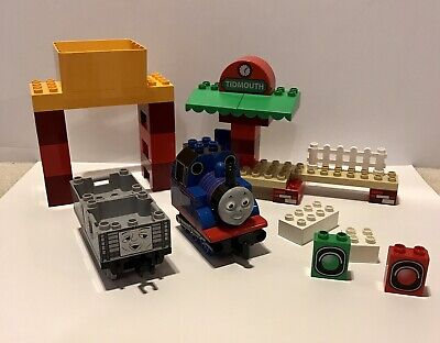 Lego Duplo Thomas The Tank Engine With Tidmouth Station