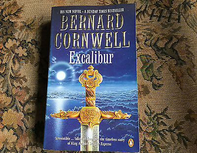 Excalibur - The Warlord Chronicles 3 (Paperback) by Bernard Cornwell 1998