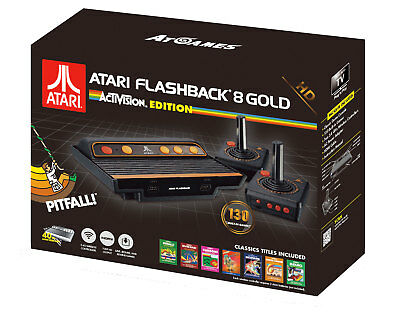 RETRO CLASSIC ATARI AR3630 FLASHBACK 8 GOLD ACTIVISION EDITION HDMI 130 GAMES
