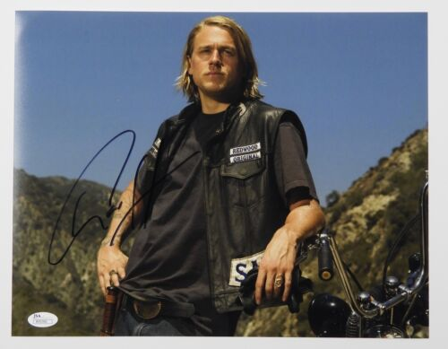 Charlie Hunnam Autograph Signed 11 x 14 JSA COA Sons of Anarchy