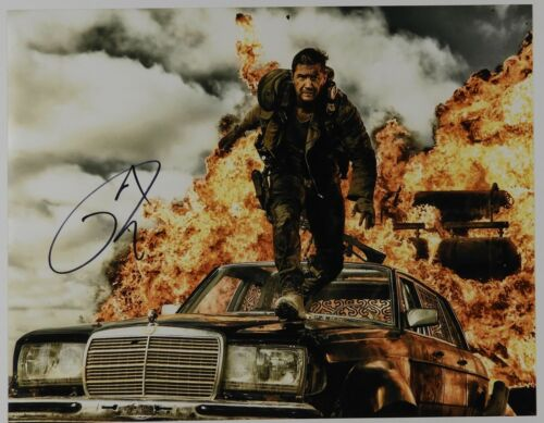 Tom Hardy Autograph JSA 11 x 14 Signed Photo Mad Max Fury Road