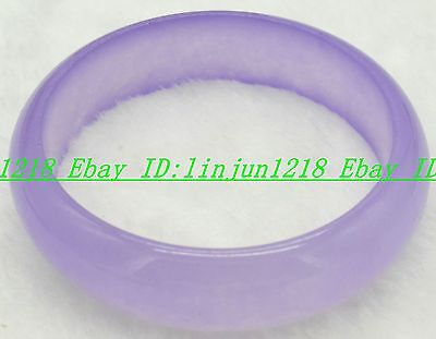 Preety! Natural Purple Alexandrite Jade Gemstone Bracelet Bangle -