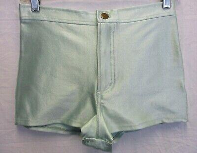 int Green Disco Shorts  (New w/Tags)  Size: Medium (Disco-shorts)