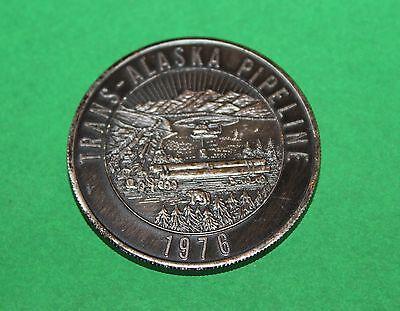 1976 TRANS-ALASKA PIPELINE COIN MEDALLION