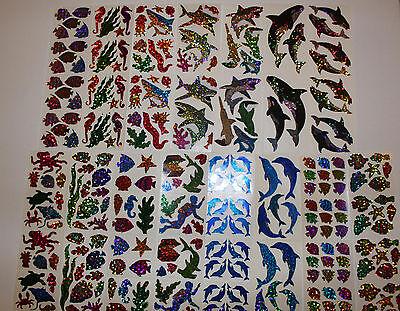 Hambly stickers 1 sheet - ocean sea fish sharks You - Shark Craft