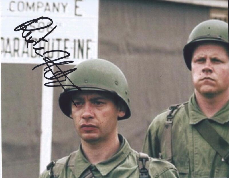 Dexter Fletcher Signed Autographed 8x10 Photo Band Of Brothers
