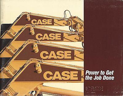 Equipment Brochure - Case - Construction Product Line Overview - C1990 E3341