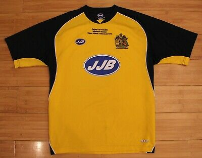 Wigan Athletic football shirt 2005 2006 FINAL CARLING CUP 2006 Manchester United image