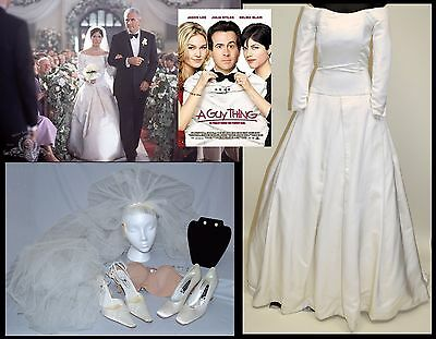 Selma Blair  2003  A Guy Thing  Mgm Production Used  Karen  Wedding Dress Lot