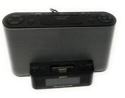 Sony Model ICF-CS10iP Alarm Clock AM / FM St/Radio w/ iPod/iPhone Dock