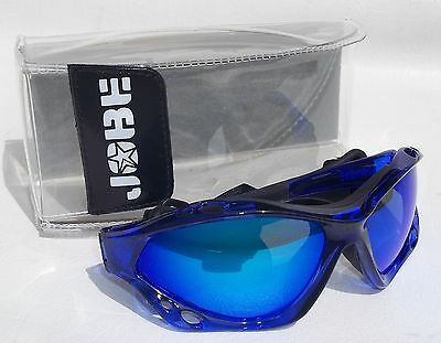 JOBE SUNGLASSES FLOATING SURF SAIL CANOE KAYAK UV400 CAT3 BLUE MIRROR LENS