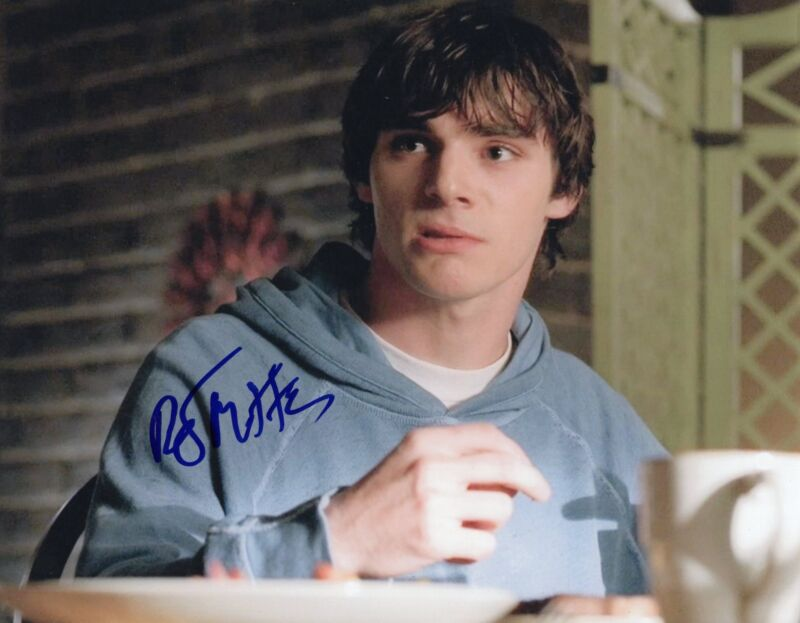 RJ Mitte Breaking Bad Walter White Jr. Signed 8x10 Photo w/COA