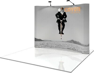 Coyote 10 Pop-up Display - Curved