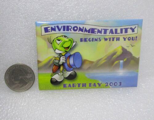 2003 Disney Earth Day Jiminy Cricket Pin Pin
