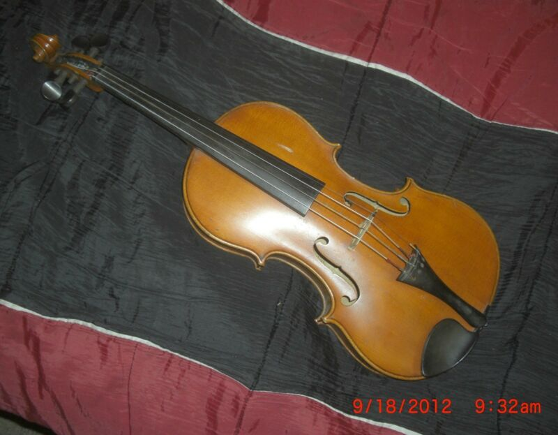 Julius Heberlein (b.1866) Amati violin reproduction
