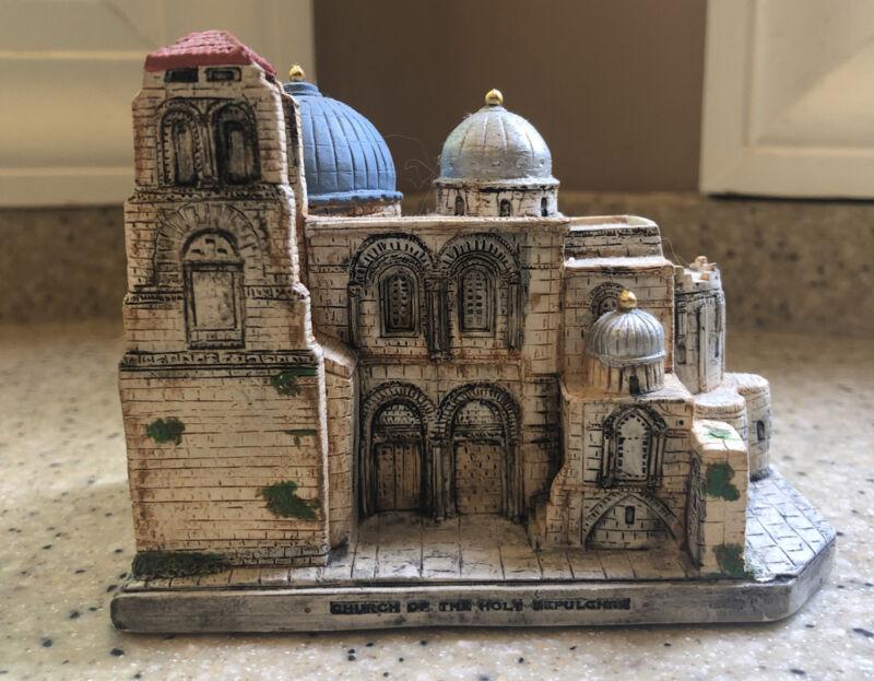 Vtg Numbered Church of the Holy Sepulchre Jerusalem Toby Maude Original
