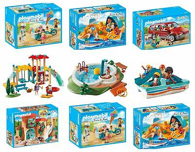 Playmobil Family Fun Summer Sets - Summer Villa, Family Beach Day & More!
