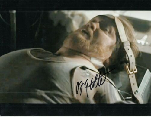 CHRISTIAN STOLTE signed (LAW ABIDING CITIZEN) 8X10 photo *Clarence Darby* W/COA
