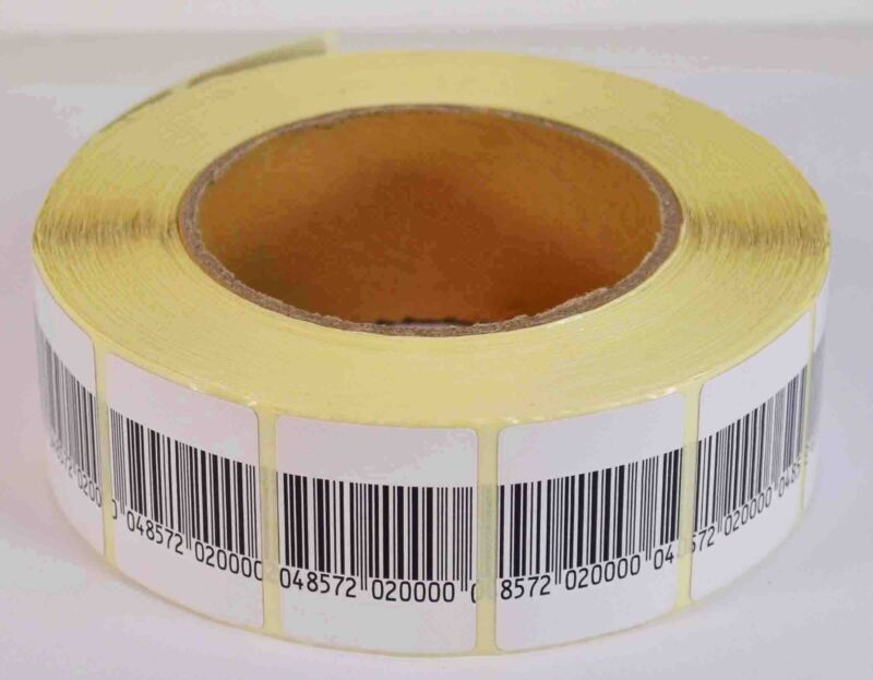 EAS ANTI-THEFT CHECKPOINT SECURITY SOFT LABEL TAG 5000PCS RF 8.2 MHZ (30MMX40MM)