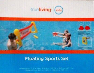 (True Living Floating Sports Set Pool Fun Water Games)