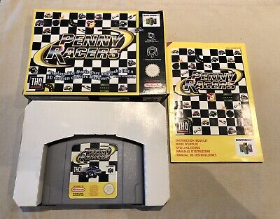 PENNY RACERS * N64 * guter Zustand / good condition * OVP / CIB