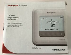 Honeywell T4 Pro - programmable thermostat