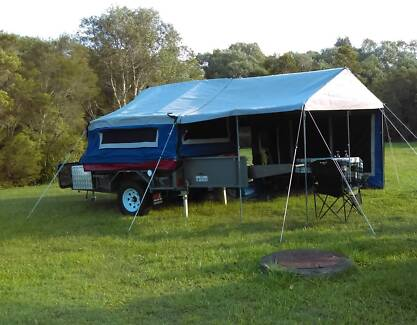 Deluxe Offroad VS Trailer with MDC Tent and Annex Caloundra West Caloundra Area Preview