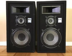 Advanced Sound Technologies X2-1500 Speakers - Set of Two (2)