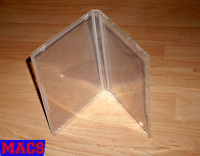 3 Freestyle Multistorage Boxen DVD/CD Standard Format 135x190x15mm transparent