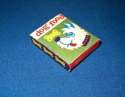 Vintage Barbie DOG N DUDS Dog Food Box (Box Only) ~ Excellent