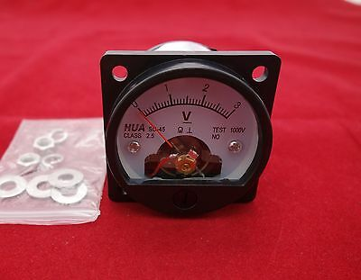 Dc 0-3v Analog Voltmeter Analogue Voltage Panel Meter So45 Directly Connect