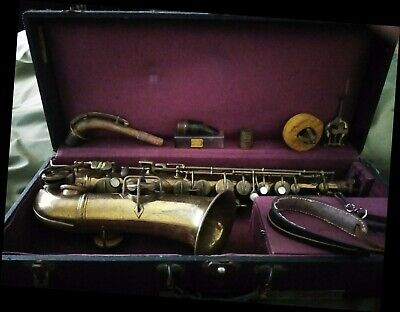 - Antique Cavalier Alto Sax 1930/40s & French Soloiste Clarinet For PARTS/OVERHAUL