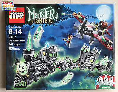 new lego monster fighters the ghost train 9467 retired htf track halloween - Lego Halloween Train
