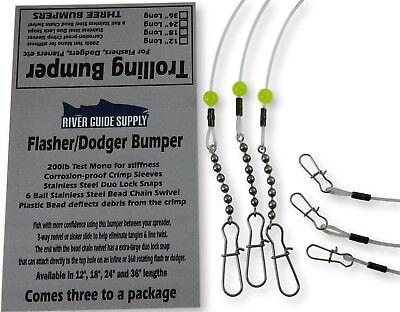 TROLLING SINKER W//#7 TURQUOISE BARREL SWIVEL 3//4 5//8 1//2 OZ 18 PCS 6 EACH.