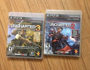 Uncharted 2 & 3 PS3