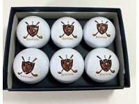 Vintage Polo Balls Bamboo Wood Pulp Classic Outdoor Prop Display Gift Custom
