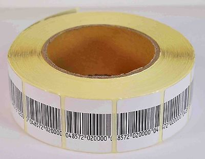 EAS ANTI-THEFT SECURITY CHECKPOINT SOFT LABEL TAG 5000PCS 8.2 MHZ (30mmx40mm)