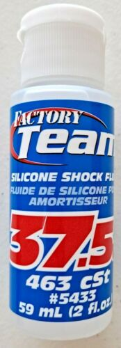 Factory Team Associated Silicone Shock Oil 37.5WT / 463cSt #5433 59mL 2 fl.oz.