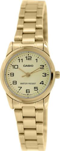Casio Women's Analog Quartz Gold Tone Stainless Steel Watch