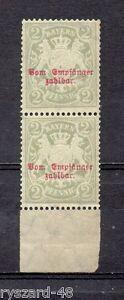 Bavaria / postage due 1895 - Mi 13 ** printing on Bavaria / State coat of arms - Kędzierzyn Koźle, OPOLSKIE, Polska - Bavaria / postage due 1895 - Mi 13 ** printing on Bavaria / State coat of arms - Kędzierzyn Koźle, OPOLSKIE, Polska