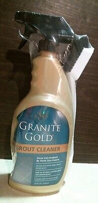 Granite Gold 00037 Grout Cleaner W  Brush 24 Oz  Spray Free Shipping