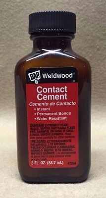 Pool Table Cushion Weldwood Contact Cement - For Securing Pool Table Cushions