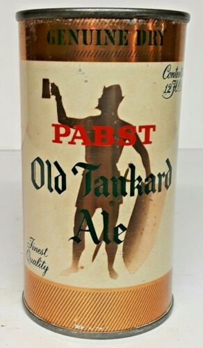 Pabst Old Tankard Ale 12 oz. Flat Top Beer Can-Milwaukee, WI.