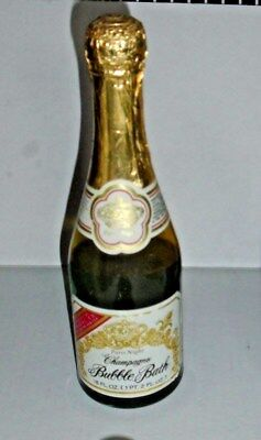Rare True Vintage ANSEHL CO. Paris Night Champagne Bubble Bath 18 Fl Oz HTF - Champagne Bubble Bath