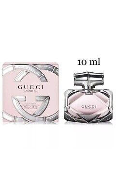 Gucci Bamboo women's Perfume Eau De Parfum EDP 10 ml  Plastic Spray Genuine