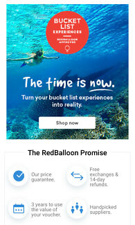 $200 Red Balloon Voucher