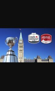2 Grey Cup Tickets-$580 for the pair!