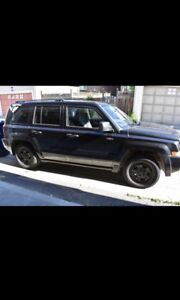2008 Jeep Patriot LOW KMS. Sold AS IS.