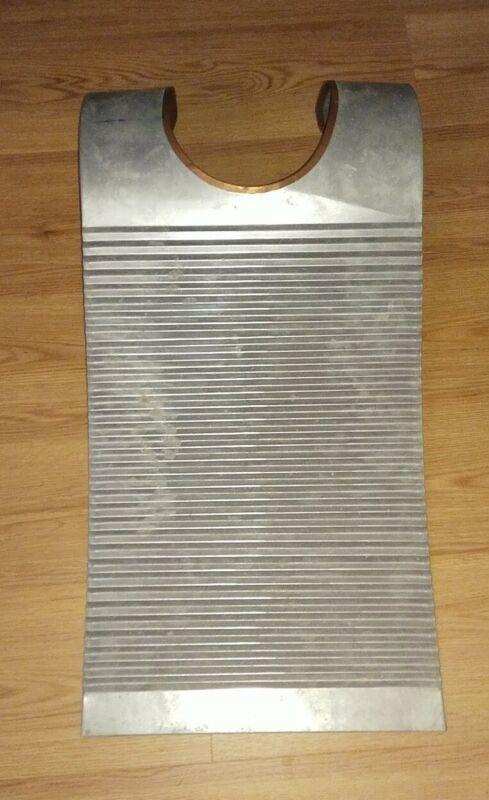 Vest Frottior Original Cajun Washboard little used possible by Don Landry