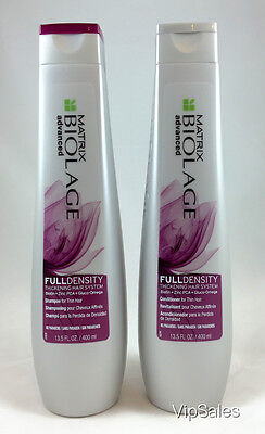 Matrix Biolage Full Density Thickening Shampoo and Conditioner 13.5oz